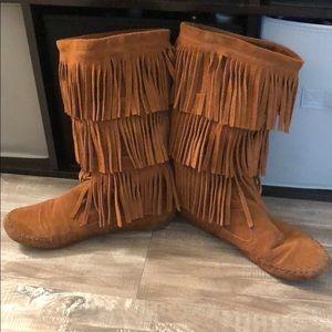 Lauren Conrad Moccasin boots!